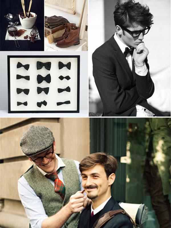 Bow tie for men summer 2012