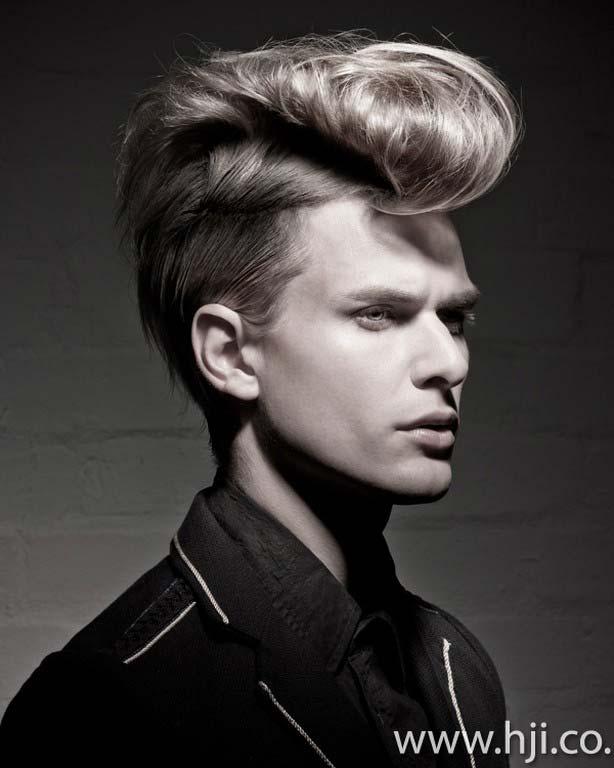 men hair styles 2012 rockabilly look