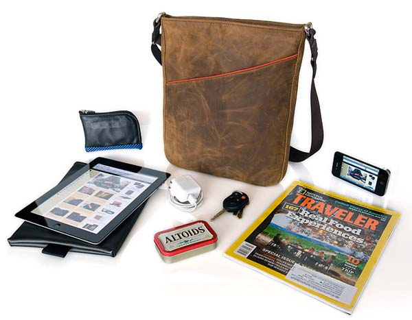 mans bag 2012 what to put in - keys, ipad, tablet, magazine