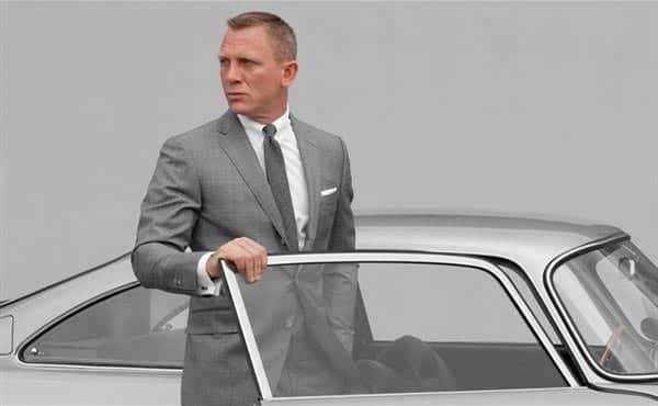 skyfall james bond suit - grey - by Tom Ford