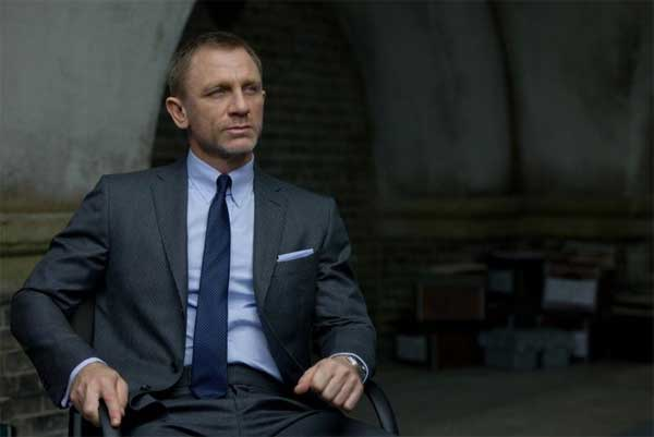 Skyfall james bond suit - dark grey - made by Tom Ford