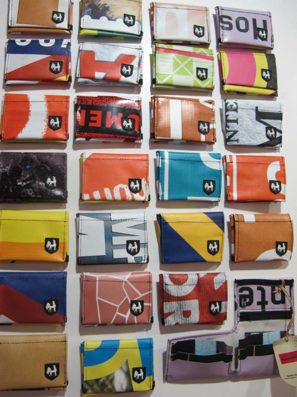Vaho wallets Barcelona, made of recycled materials