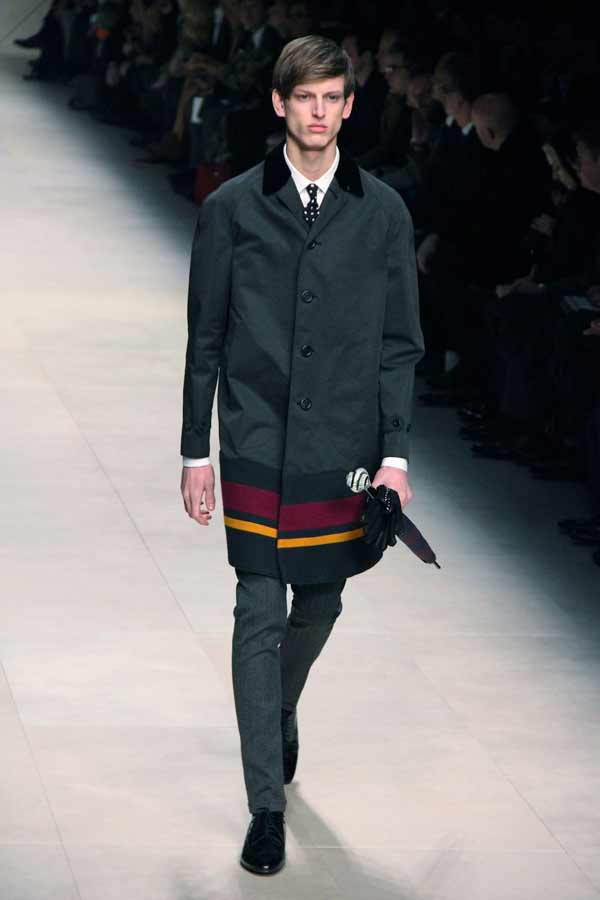 Burberry Prorsum - Fall Winter 2012 - Milano Fashion Week - Trench Coat