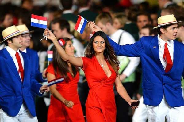 Paraguayan-london-olympic-uniforms