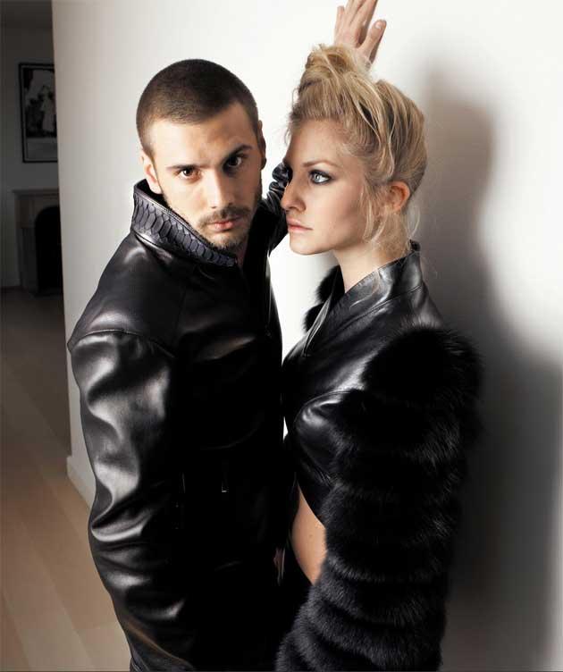 LAS8 paris french leather haute couture 5