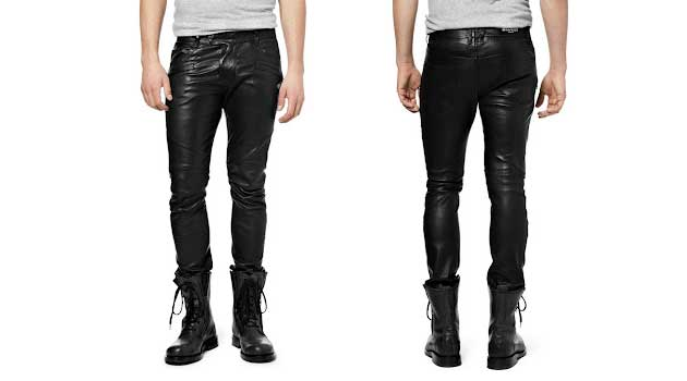 limited price brand quality shop for authentic Men's Leather Trousers - Do Men Look Good In Leather ...