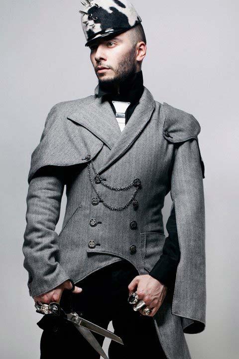 leonid gurevich, stylist military jacket