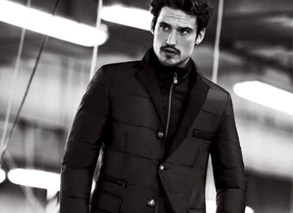 Corneliani Fall Winter 2012 puffer jacket