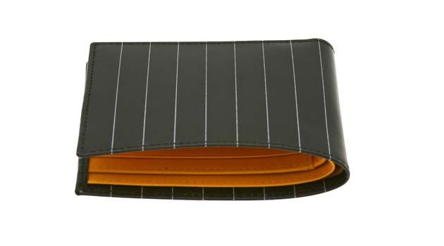 Ettinger Wallets – Pinstripe, Crocodile Leather, Bentley