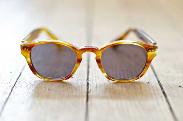 Yellow Tortoiseshell Sunglasses