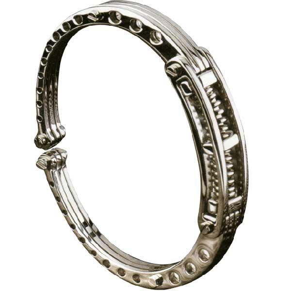 Biker inspired bracelet