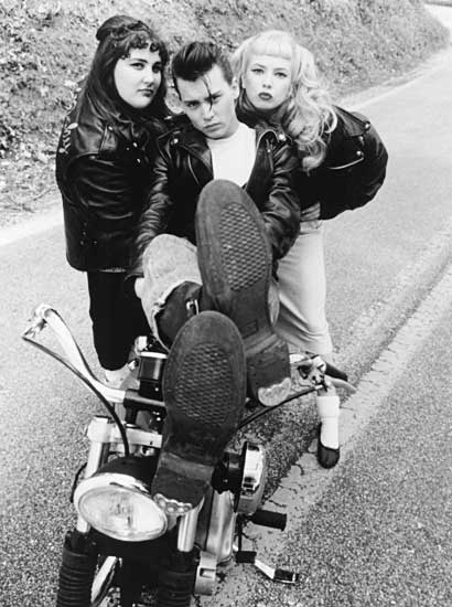 johnny depp - cry baby - wearing boots