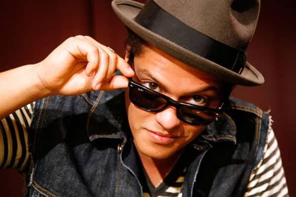 Bruno Mars - singer unorthodox jukebox male singer