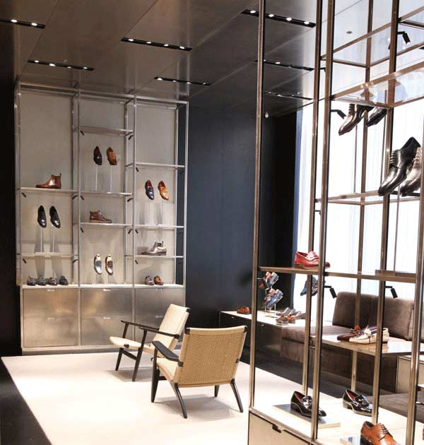 Selfridges Men's Shoe Department - Tom Ford Section