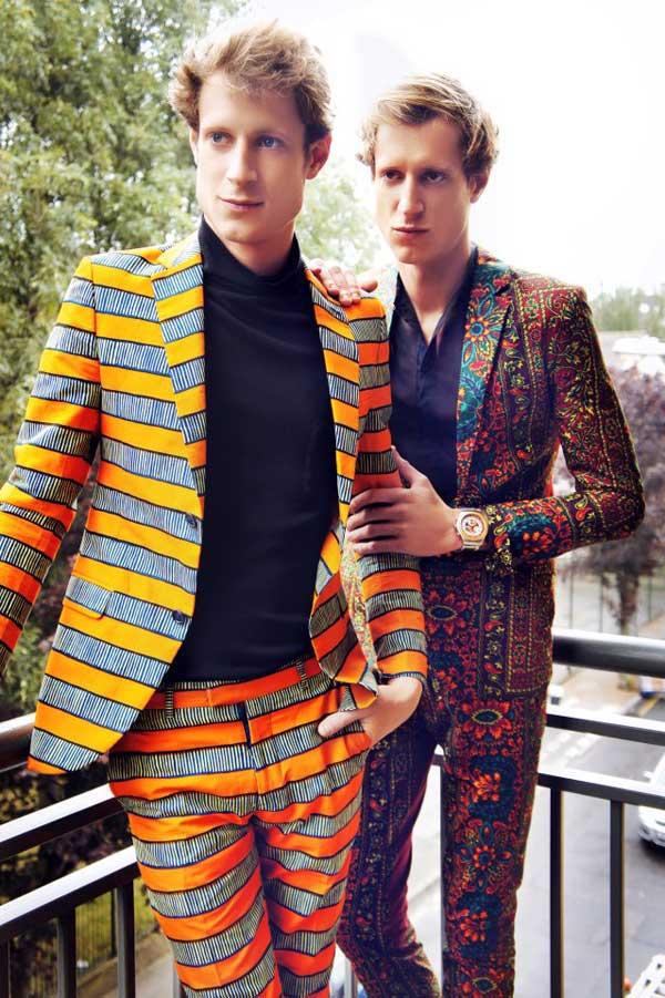 dent de man ---african-trousers,prints