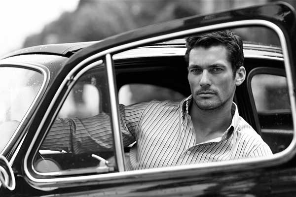 David Gandy loves his Vintage cars