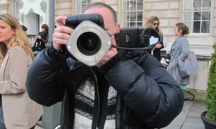 London Fashion Week – Press In Action