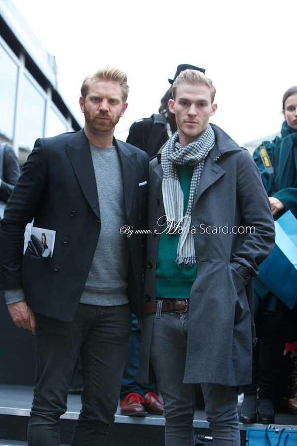 London Fashion week what men are wearing 3