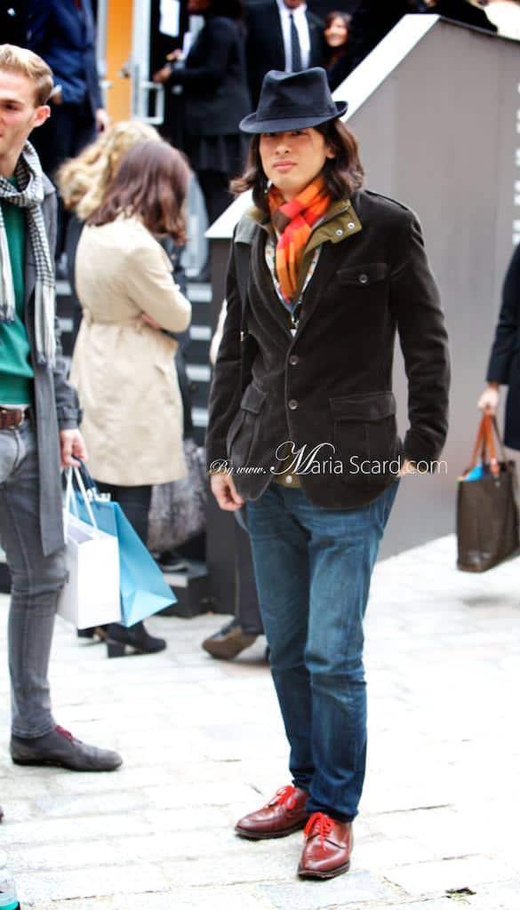 London Fashion week what men are wearing 4