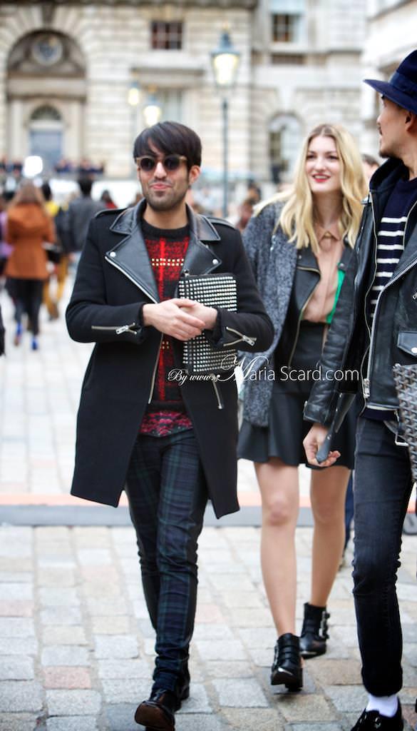 London Fashion week what men are wearing 6