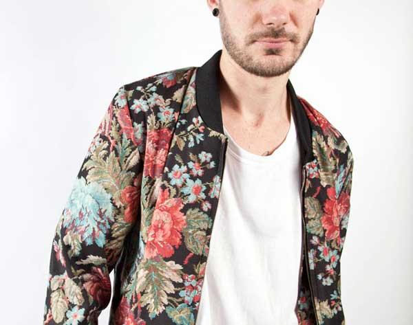Mingili Floral Bomber Jacket
