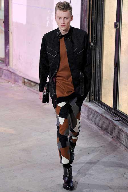 Phillip Lim men's Collection 2013 Brown,Grey &black