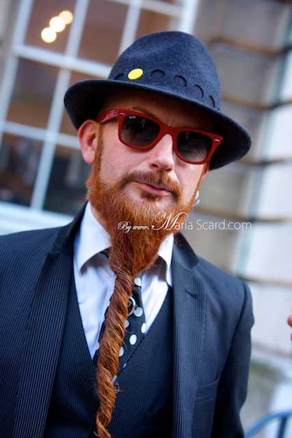 London Fashion Week - Fedora Hats for men 2013