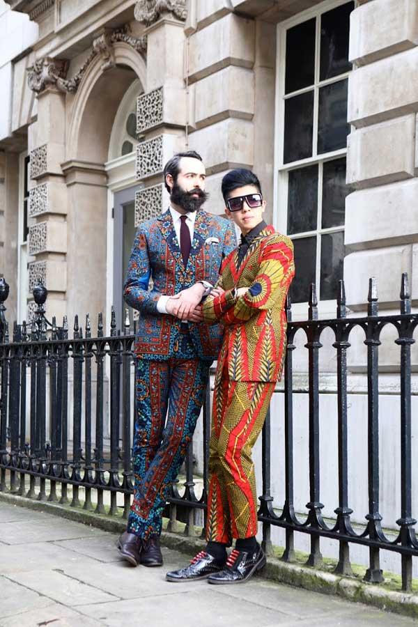 dent de man - london fashion week 2013