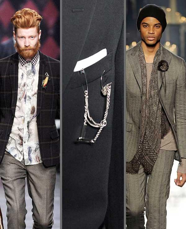 men's brooches for 2013 - Yunus & Eliza