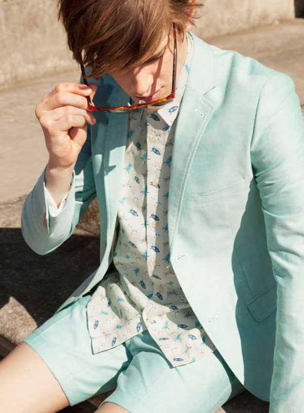 Topman summer suits for men 2013