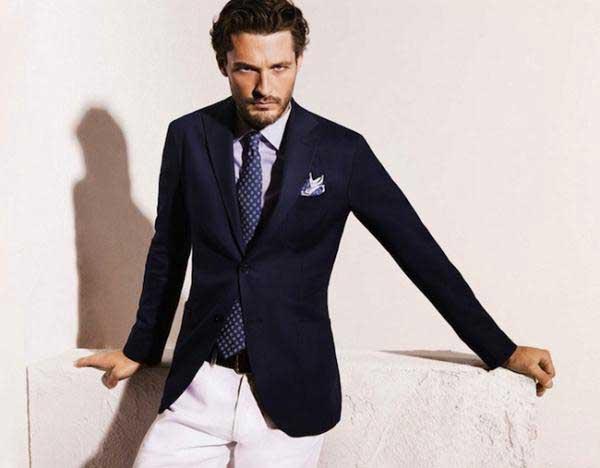Ben Hill Massimo Dutti royal blue