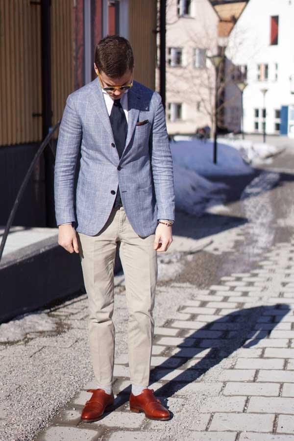 blue blazer spring 2013