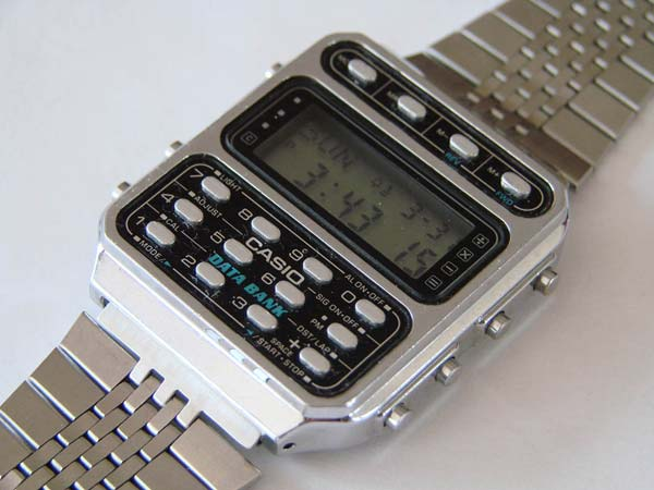 casio with data bank Vintage