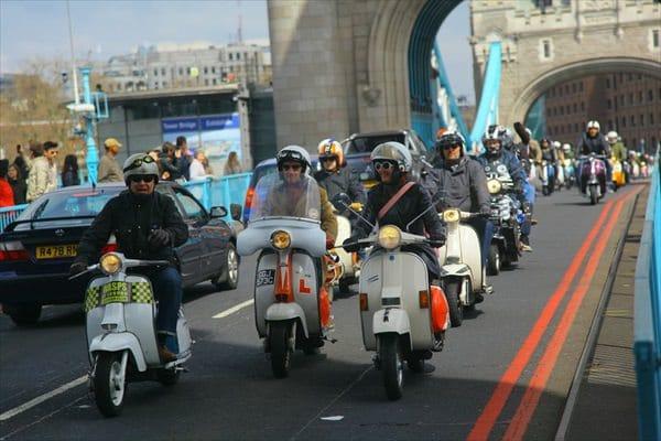 Mod Fashion Lambretta Vespa Scooters 2013
