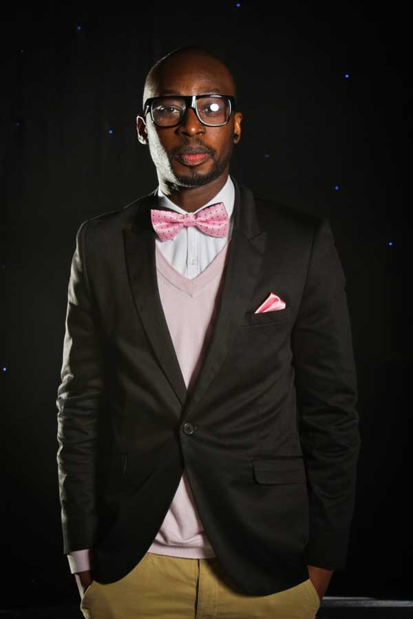 Tinie Tempah pink for men - bow Ties 2013