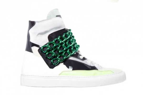 raf simons ss13 -sneakers green trainers