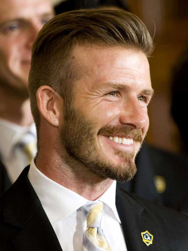 David Beckham- Hairstyles fashion 2013