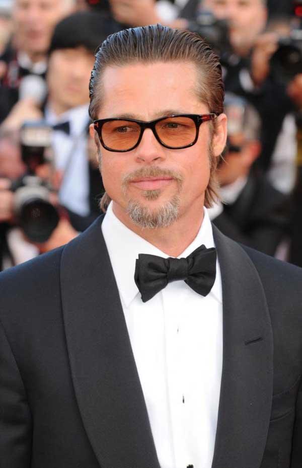 Brad Pitt - Black tuxedo 2013