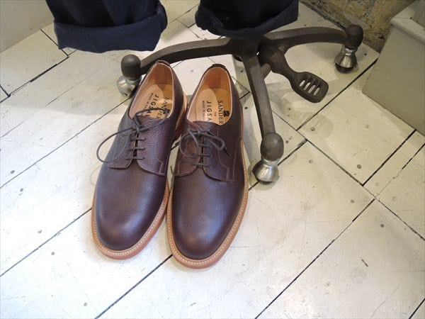 Leather Gibson Shoe
