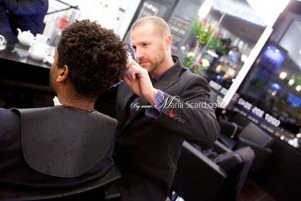 John Carne Knightsbridge hairdresser 'Dust It' by Schwarzkopf