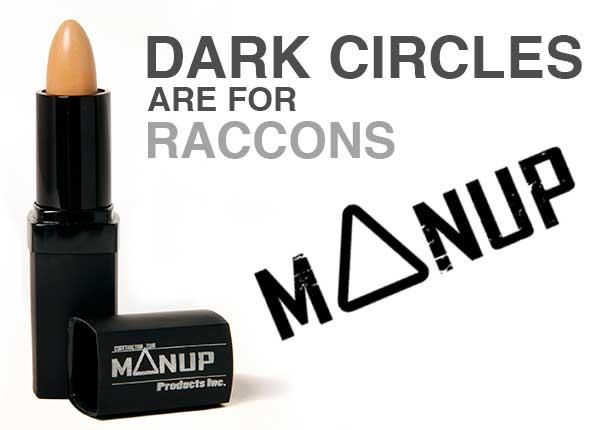 Make up for men - Dark circles