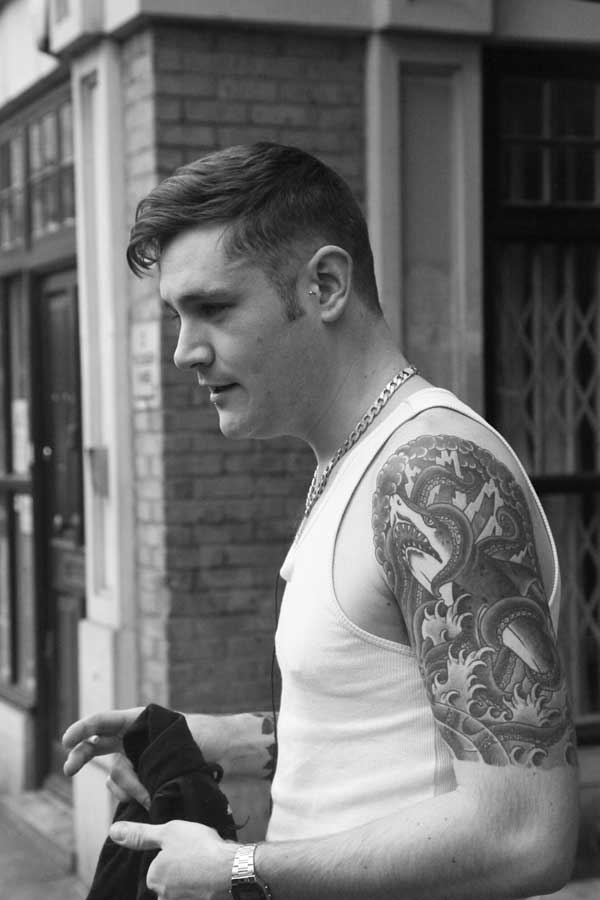 Tattoo for Men - Shoreditch 2013
