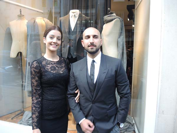 Dolce & Gabbana London Menswear Store Opening at Bond Street - London Collections Men