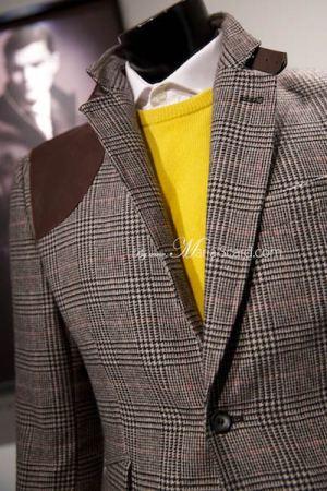 Marks & Spencer 2014 Beige Blazer - Checkered