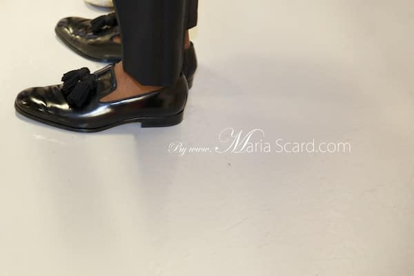 Tinie Tempah - London Collections Men - Jimmy Choo shoes