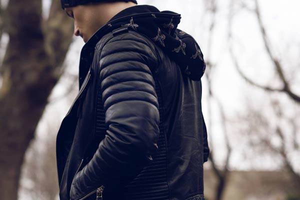 Boda Skins Luxury Leather Jackets Signature Sleeves.