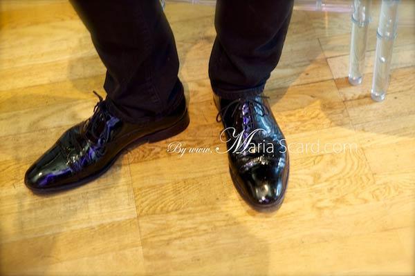 Harvey Nichols - Season at the Fifth Floor restaurant Staff Uniform Black Patent Shoes