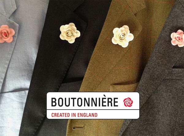 ButtonHoles - Boutonniere Collection of Roses