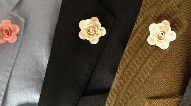 Buttonhole Fashion – Boutonniere – Understated Accessories