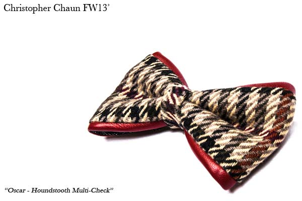 Christopher Chaun Oscar Houndstooth Multi color MSF